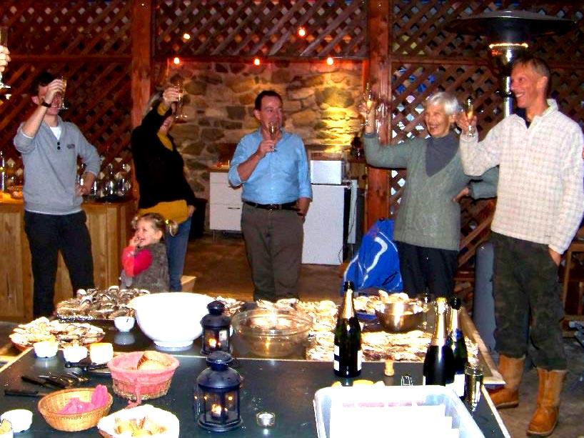 huitres-champagne1 Séjour en famille